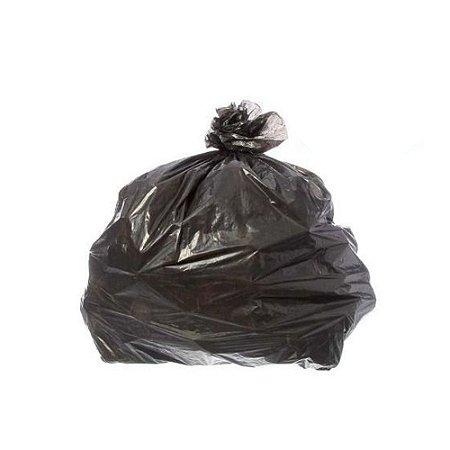 Saco de Lixo Preto 105 Litros 5 Micras - 100 Uni