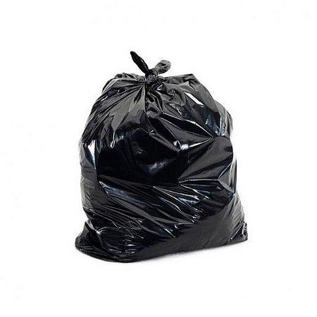 Saco de Lixo Preto 20 Litros 5 Micras - 100Uni
