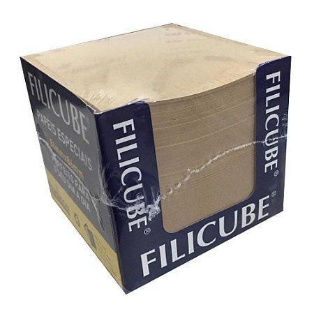 Bloco de Recado Filicube 8x8cm Reciclado Filiperson