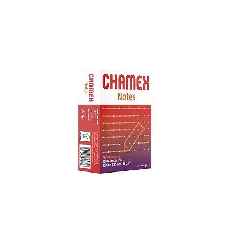 Bloco para recado Chamex Notes 80x115mm 300 folhas. International Paper
