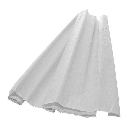 Papel Crepom Branco 48cmx2,00m V.M.P