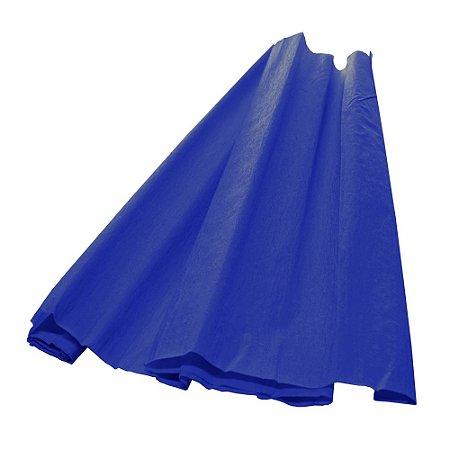 Papel Crepom Azul Royal 48cmx2,00m V.M.P