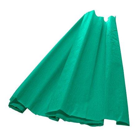 Papel Crepom Verde Bandeira 48cmx2,00m V.M.P