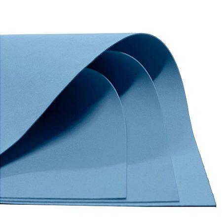 Placa EVA Dubflex - 60x40cm - 1,8mm - Azul Bebe
