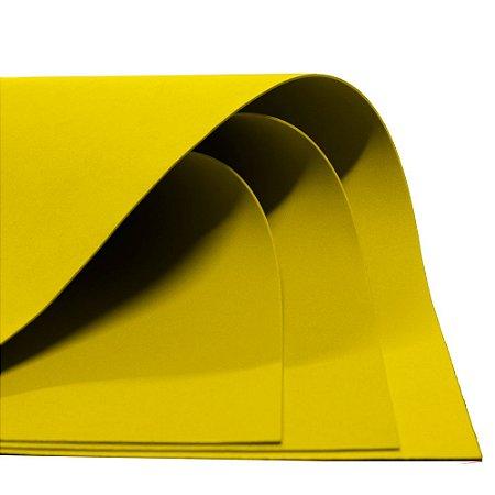 Placa em EVA 60x40cm Amarelo 1,6mm Make+