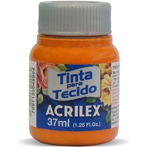 Tinta Tecido Fosca 037ml Cenoura Acrilex