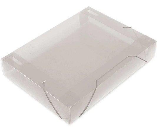 Pasta aba elástica plástica oficio 55mm cristal soft