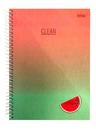 Caderno Capa Dura 2021 Clean Colegial - 80 folhas