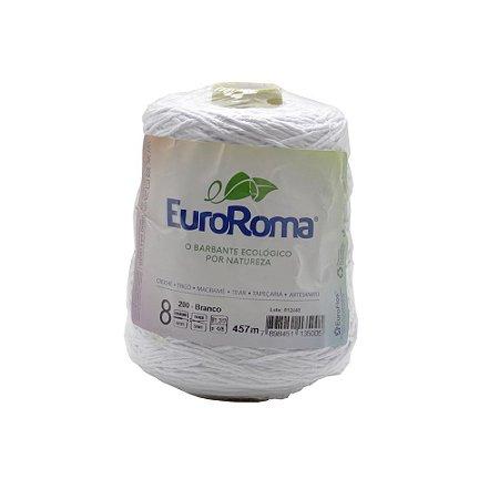 Barbante EuroRoma Branco 600g 4/8 Fios 457m - N°8