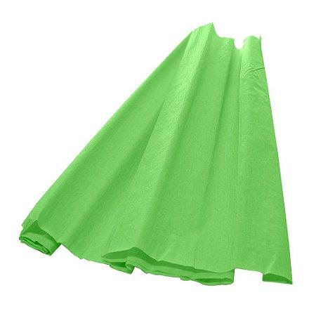 Papel Crepom Verde Claro 48cmx2,00m