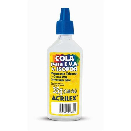 Cola Para Isopor Acrilex Isopor E Eva 35g