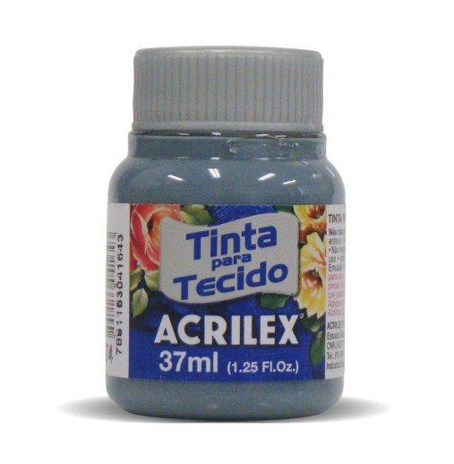 Tinta Tecido Fosca 037ml Cinza Lunar Acrilex