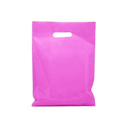 Sacola Boca de Palhaço Rosa 30x40 0,13