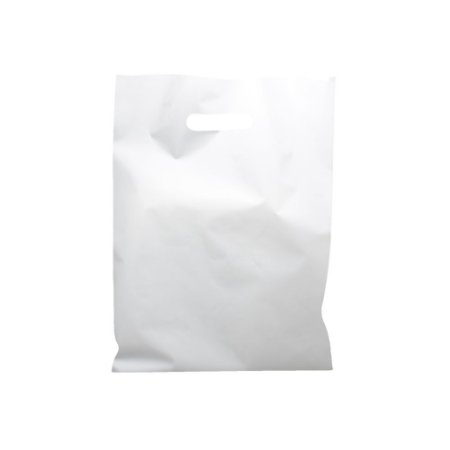 Sacola Boca de Palhaço Branca 30x40 0,13