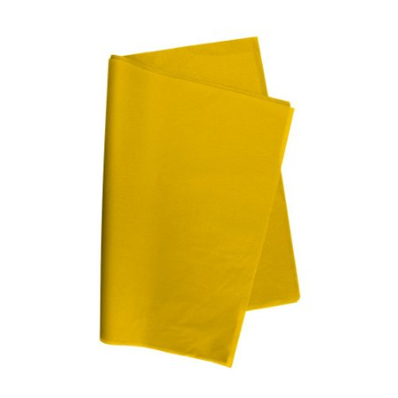 Papel De Seda Amarelo 48x60cm 20g Pct/100 V.M.P.
