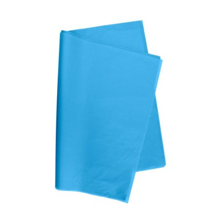 Papel De Seda Azul Celeste 48x60cm 20g Pct/100 V.M.P.