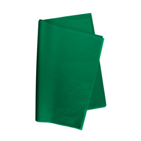 Papel De Seda Verde Bandeira 48x60cm 20g Pct/100 V.M.P.