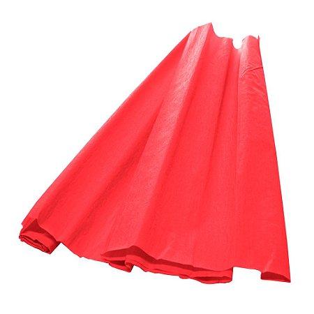 Papel Crepom Vermelho 48cmx2,00m V.M.P
