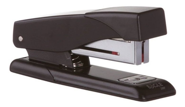 Grampeador Metal Eagle 208 Preto 26/6 20f - Sertic