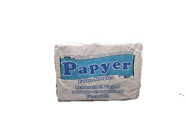 Papel Interfolha 2db 100% 22x21 - Papyer c/1000