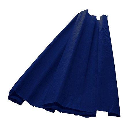 Papel Crepom Azul Escuro 48cmx2,00m V.M.P