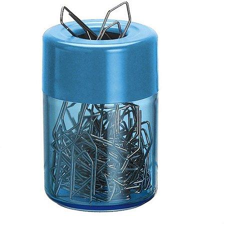 Acessório Para Mesa Porta Clips Magnético Azul 936-3 - Acrimet