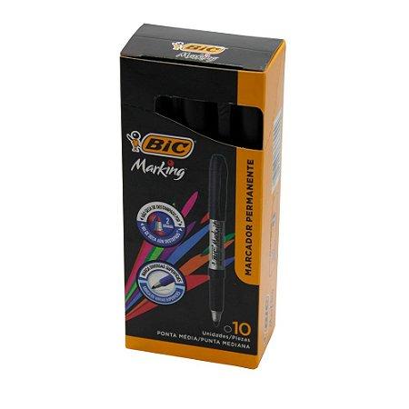 Pincel marcador permanente Marking 1.1mm Bic Preta