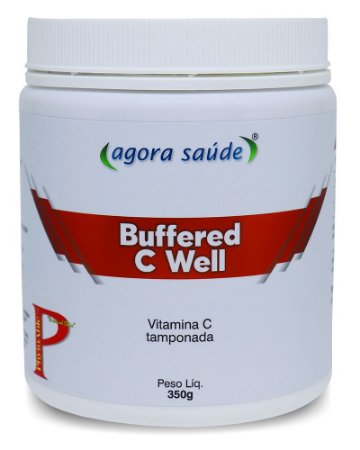 Vitamina C Tamponada Buffered C Well – 350g