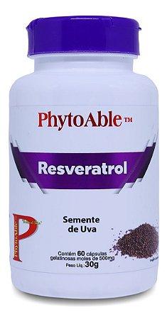 Resveratrol Extrato de Semente de Uva 500mg – 60 cápsulas