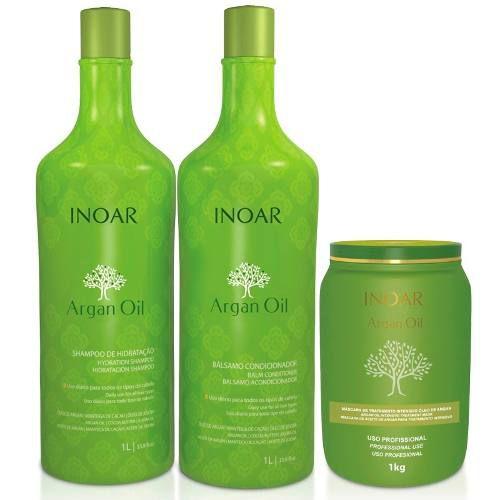 inoar argan kit salao litro shampoo cond masc 1kg