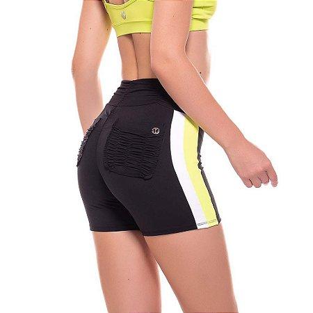 Shorts Empina Bumbum Fact New Preto VESTEM