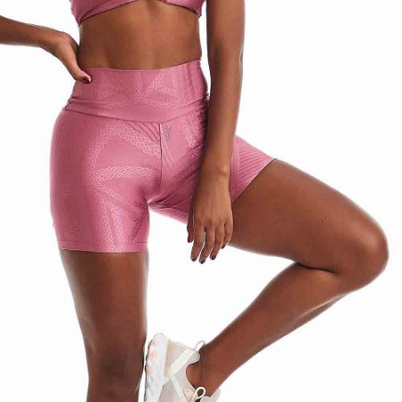 Shorts Feminino Fitness Cajubrasil Rosa CAJUBRASIL