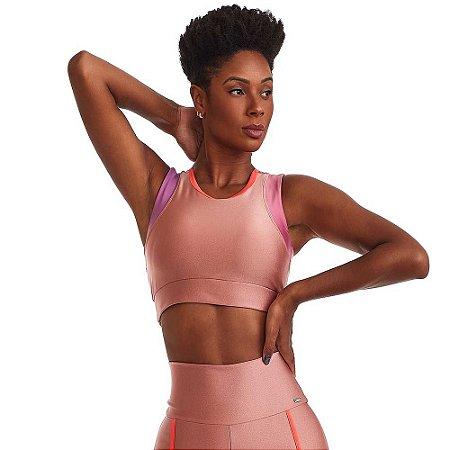Top Fitness Loveliness Rosa CAJUBRASIL