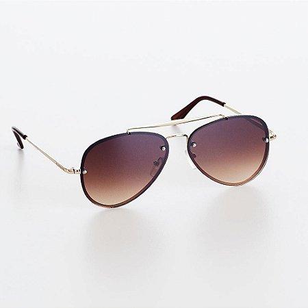 Óculos Cajulovers Marrom CAJUBRASIL