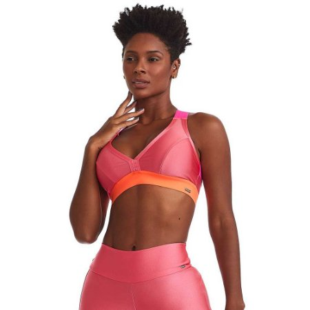 Top Fitness Mystic Pink Neon CAJUBRASIL