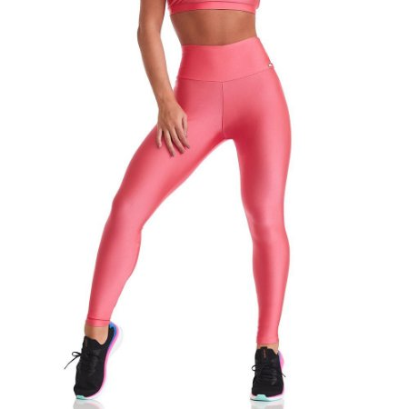 Calça Legging Atlanta Básica Pink Neon CAJUBRASIL