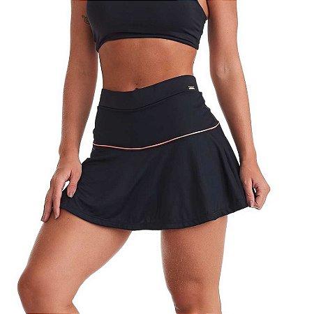 Shorts Saia Fitness Jump Preto CAJUBRASIL