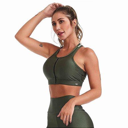 Top Fitness Sportive Verde CAJUBRASIL