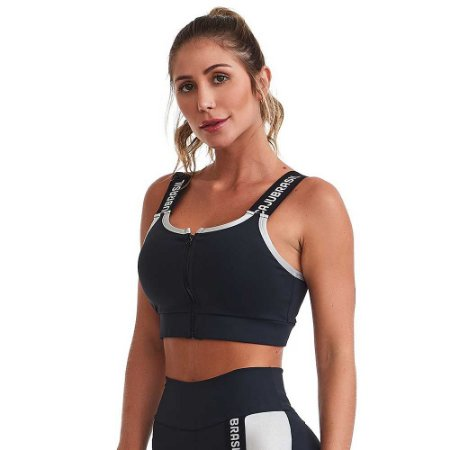 Top Fitness NZ Strenght Preto CAJUBRASIL