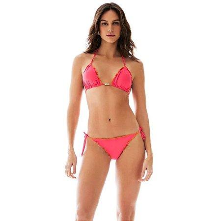Biquíni Cortininha Ripple Pink MORENA ROSA BEACH