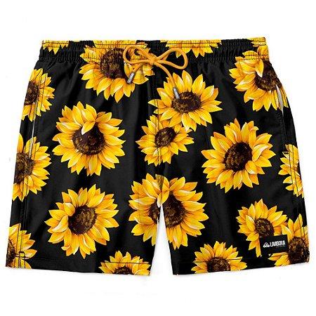 Shorts Masculino Summer Sunflower Estampado LAVIBORA
