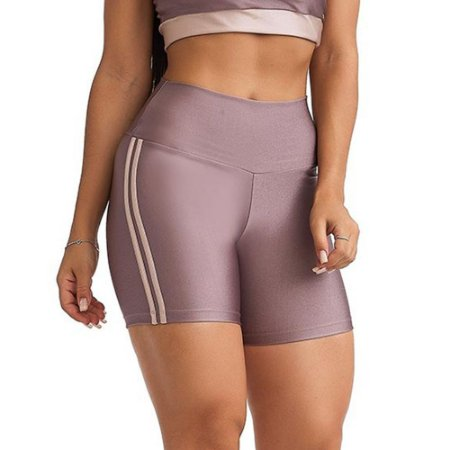 Shorts Fitness Balance Lilás CAJUBRASIL
