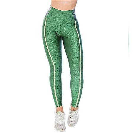 Calça Legging Galaxy Verde CAJUBRASIL
