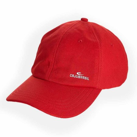 Boné Colors Vermelho CAJUBRASIL