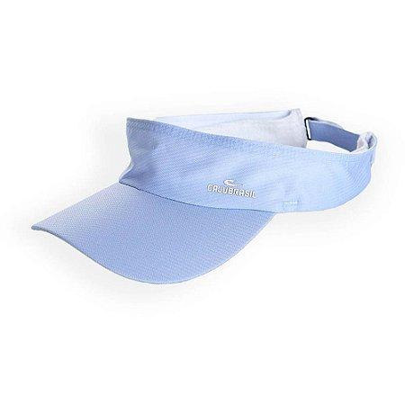 Viseira Com Proteção Solar Azul CAJUBRASIL