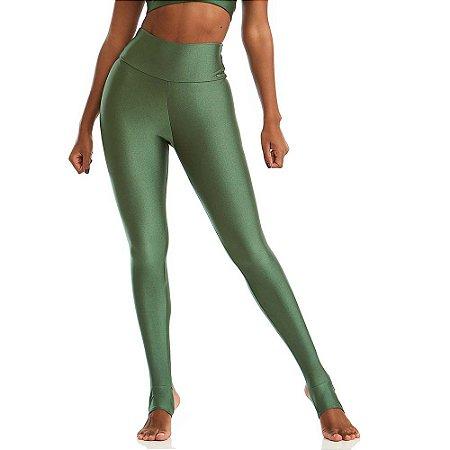 Calça Legging Básica Yoga Verde CAJUBRASIL