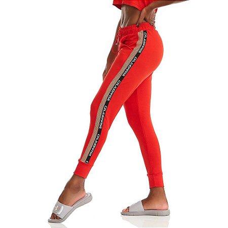 Calça Jogger Comfort Vermelha CAJUBRASIL