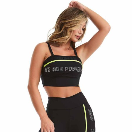 Top Fitness NZ Powerful Preto CAJUBRASIL