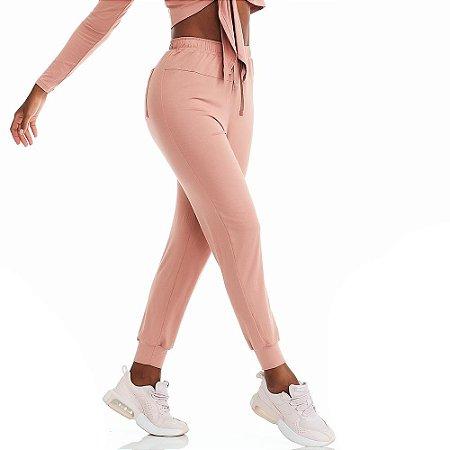 Calça Jogger Energy Rose CAJUBRASIL