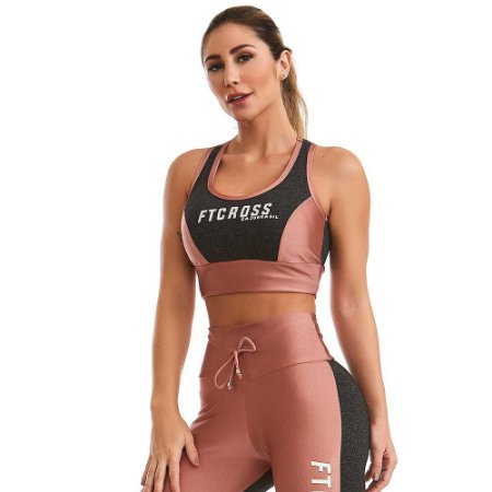 Top Cropped  Only  Rosa CAJUBRASIL